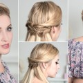 Boho-chic-hairstyles-for-everyday-party-prom-wedding-Medium-long-hair-tutorial