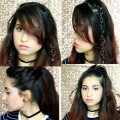 Cute-Hairstyles-For-Girls-Medium-Length-and-Long-Hair-No-Heat-Ready-in-1-Minute