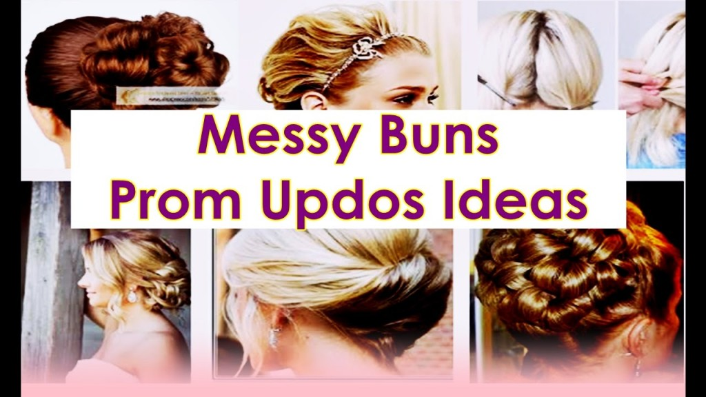 Cute Hairstyles For Short Hair Updos Messy Buns Prom Updos Ideas