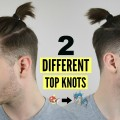 Mens-Top-Knot-Man-Bun-Hairstyle-Tutorial-How-To-2016