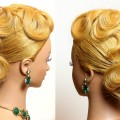 Prom-bridal-updo.-Wedding-hairstyle-for-long-medium-hair
