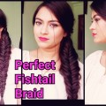 The-perfect-fishtail-braidhairstyles-for-medium-to-long-haireasy-indian-hairstyles