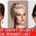 Trendy-short-haircuts-for-women-2017