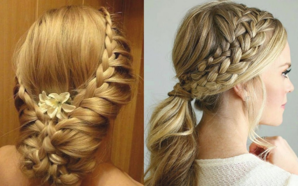 beautiful hairstyles for long hair for wedding party | teenager ...