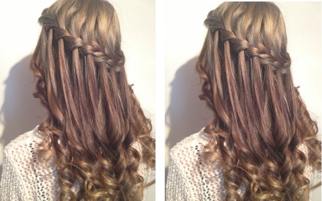Hairstyles For Long Curly Hair For Parties Wedding Teenager