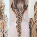 hairstyles-for-long-hair-for-wedding-guest-parties-teenager-women-simple
