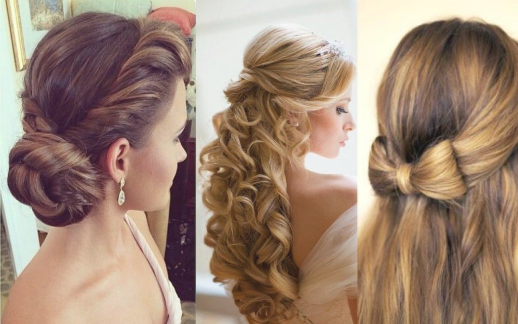 new hairstyles for long hair for parties wedding teenager women simple easy. Black Bedroom Furniture Sets. Home Design Ideas