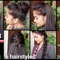 1-Min-Perfect-Puff-6-QUICK-EASY-Hairstyles-for-medium-to-long-hair-for-DiwaliIndian-hairstyles