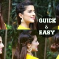 1-Min-Perfect-Side-Hair-Puff-6-QUICK-EASY-Hairstyles-For-Medium-Hair-For-Diwali-Indian-hairstyles