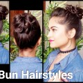 2-EASY-Everyday-Braided-Bun-Hairstyles-No-PinsNo-TeasingHairsprayIndian-Hairstyles-for-long-hair