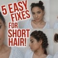5-Easy-Hairstyles-for-Short-Hair-_-NO-HEAT_-Lazy-Day-Running-Late-Hair-Fixes