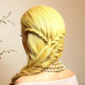 Braided-hairstyle-for-party.-Long-hair-tutorial