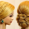Bridal-updo.-Hairstyles-for-long-medium-hair.