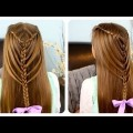 Easy-and-Quick-Braid-Hairstyle-CUTE-and-SIMPLE-Evenig-Prom-Hairstyles-Penteados