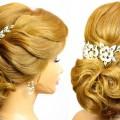 Elegant-updo.-Wedding-hairstyles-for-medium-long-hair-tutorial
