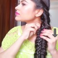 Everyday-easy-hairstyles-for-medium-to-long-hair-Stacked-braid-with-trick-Hairstyles-Modelling