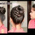 Everyday-easy-hairstyles-for-medium-to-long-hair-indian-hairstyles-Hairstyles-Modelling