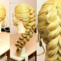 Everyday-hairstyle-for-long-hair.-Pull-Through-Braid-Tutorial