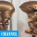 Fishtail-braid-into-high-ponytail-hairstyle-Best-Amazing-Hair-Transformations-2016-Yencop