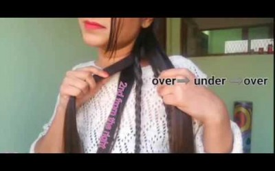 Girls-Braided-5-strand-braid-hairstyles-for-medium-long-hair-prom-party-indian-ha