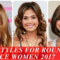Hairstyles-for-round-face-women-2017