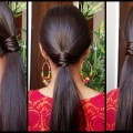 Ponytail-Hairstyles-for-Medium-to-long-Hair-Indian-Hairstyles-Hairstyles-Modelling