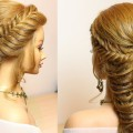 Prom-wedding-hairstyles-for-long-hair.-Fishtail-and-mermaid-braid