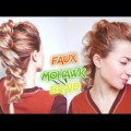 SHORT-MEDIUM-HAIR-FAUX-MOHAWK-PULL-THROUGH-BRAID-HAIRSTYLE-Awesome-Hairstyles