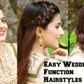 3-EASY-Hairstyles-For-Indian-Wedding-Occasions-For-Medium-Hair-Indian-Party-Heatless-Hairstyles