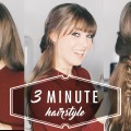 3-MINUTE-Hairstyle-The-Easiest-Hairstyle-Youll-Ever-Do