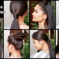 7-EVERYDAY-1-Min-Hairstyles-QuickEasy-Heatless-Hairstyles-for-mediumlong-hairIndian-hairstyles