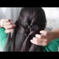 Easy-hairstyles-for-long-hair-hair-tutorial-hair-style-at-home-hairstyle-for-indian-women