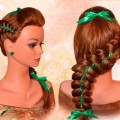 Elegant-Hairstyle-With-Ribbon-for-Long-Medium-Style.PK_