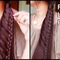 FRENCH-LACE-Ponytail-Hairstyle-for-partyBraided-Indian-Hairstyles-for-long-staright-hair