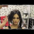 Indian-Pakistani-Asian-Bridal-Hair-Style-Tikka-Dupatta-Setting-Tutorial-Wedding-Hairstyles