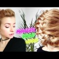 MEDIUM-SHORT-HAIRSTYLE-FAUX-MOHAWK-STYLE-UPDO-BUN-WITH-BRAIDS-Awesome-Hairstyles