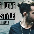 Mens-Long-Hair-Style-2016-Tutorial-Quiff-Man-Bun