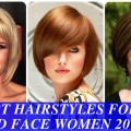 Short-hairstyles-for-round-face-women-2017