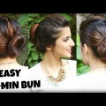 3-EASY-Bun-Hairstyles-for-THINLONG-Hair-Using-a-Bun-Maker-For-College-Work-Perfect-Bun-Tutorial