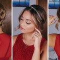 3-Simple-Holiday-Hairstyles-for-ShortMedium-Length-Hair-Ashley-Bloomfield