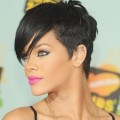 Curly-to-Shaved-Short-Haircut-Rihana-Hairstyle-Inspired-For-Black-Women-Short-Hair-Hairstyles