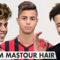 Hachim-Mastour-Hairstyle-Undercut-with-long-top-line-up-Mens-hair