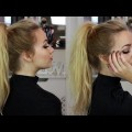 High-Ponytail-with-Extensions-Hair-Tutorial-Quick-Easy-Hairstyles-Hairstyles-Collection