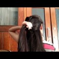 How-to-make-hairstyle-for-girls-at-home-quick-and-easy-hairstyle-for-girls