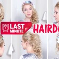 LAST-MINUTE-Christmas-hairstyles-for-mediumlong-hair-Curls-low-bun-updo-ponytail