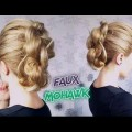 SHORT-MEDIUM-HAIR-HAIRSTYLE-ELEGANT-KNOTTED-FAUX-MOHAWK-UPDO-Awesome-Hairstyles