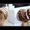 Wedding-Hairstyle-For-Medium-Long-Short-Hair-How-to-Romantic-Updo-Pron