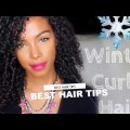 Winter-Season-Hairstyles-For-Medium-Curly-Hair-Women