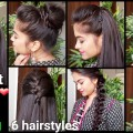1-Min-Perfect-Puff-6-QUICK-EASY-Hairstyles-for-medium-to-long-hair-for-DiwaliIndian-hairstyles-1