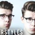 2-Easy-Mens-Hairstyles-for-Day-Night-Mens-2017-Hair-Tutorial